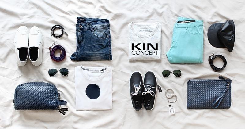 Sản phẩm thời trang nam tại Kin Concept rất trẻ trung, sáng tạo