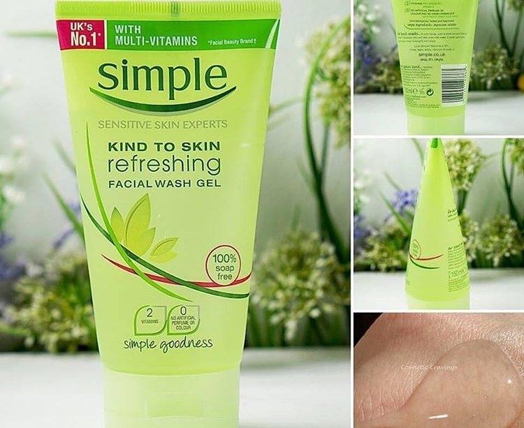 Kind To Skin Refreshing Facial Wash Gel