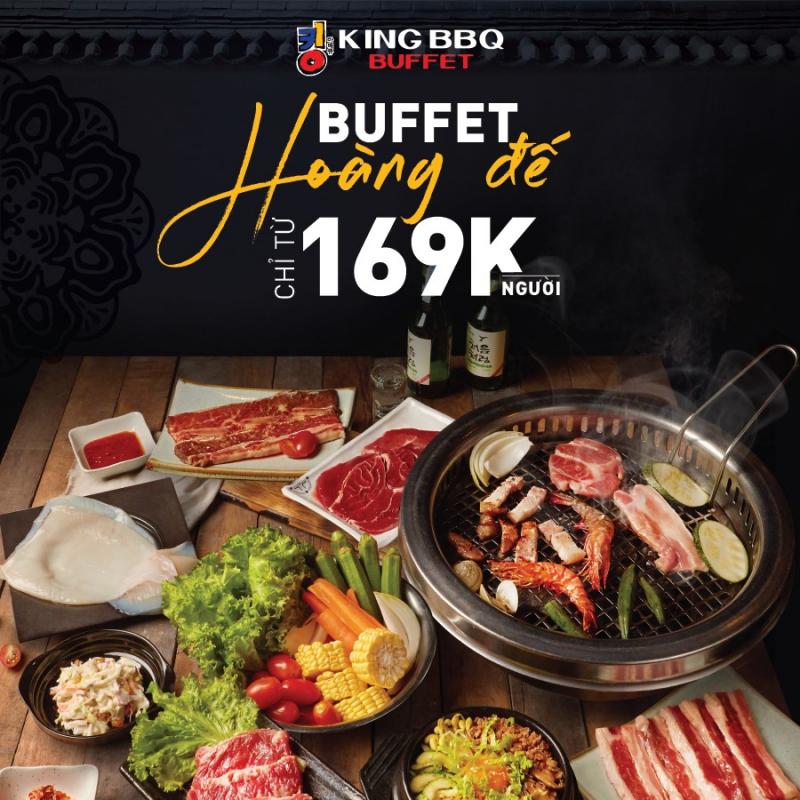 Buffet nướng tại King BBQ