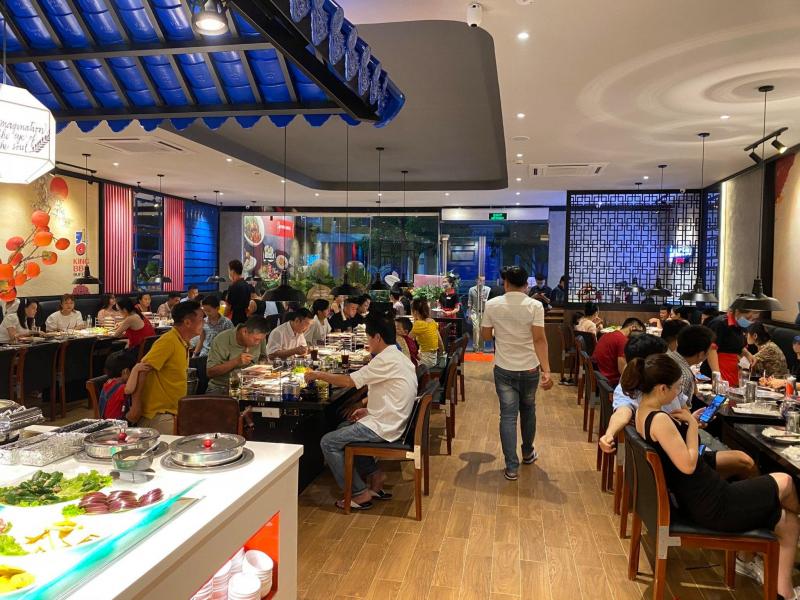 Các món ăn tại King BBQ được chế biến chuẩn vị Hàn Quốc, khéo léo kết hợp trong nhiều Combo Buffet và Set ăn hấp dẫn