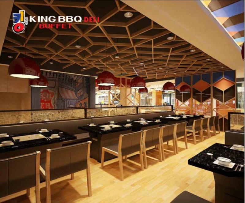 Không gian ấm cúng tại King BBQ - Royal City