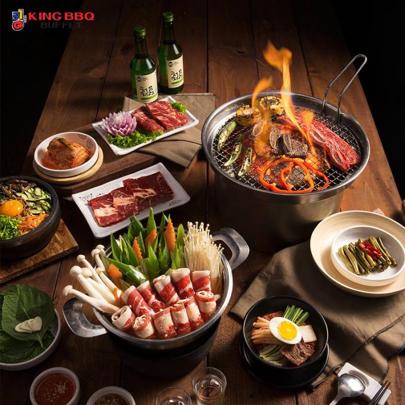 King BBQ Thái Nguyên là địa chỉ để bạn có thể thưởng thức trọn vẹn ẩm thực Hàn Quốc