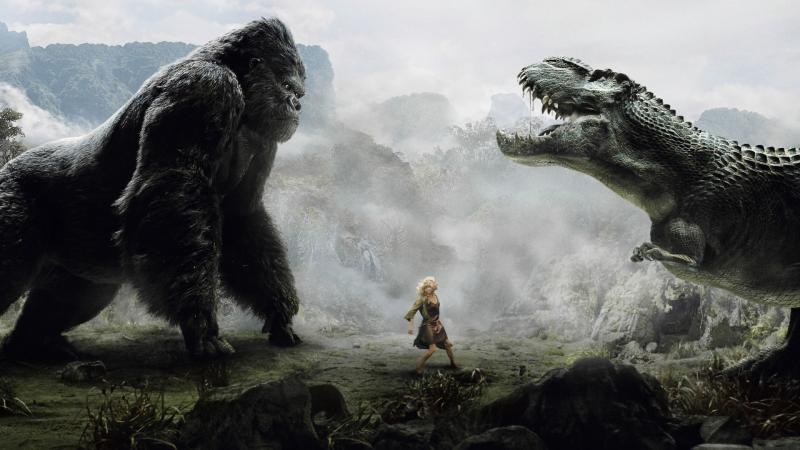 Cảnh phim King Kong
