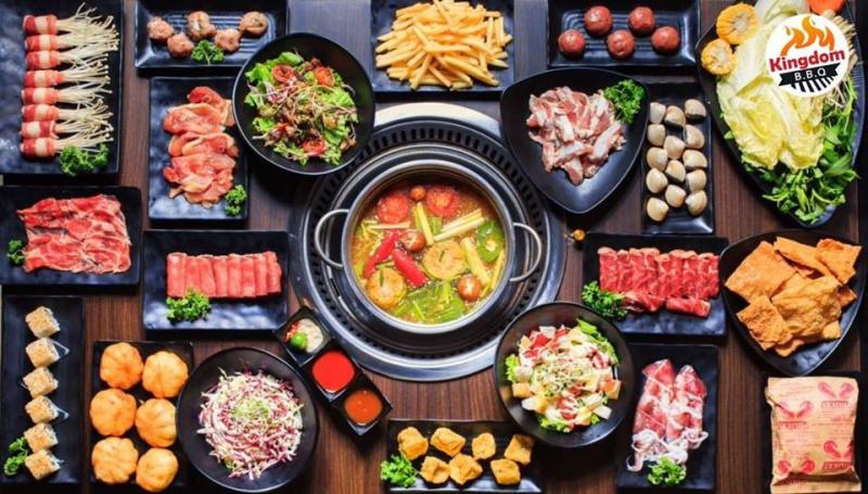 KingDom BBQ - Lẩu Hơi - Nướng Không Khói