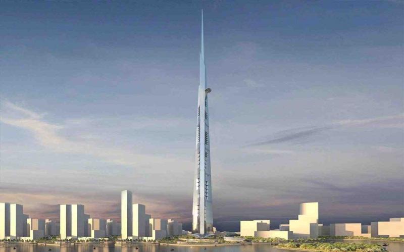 Tòa nhà cao nhất thế giới trong tương lai