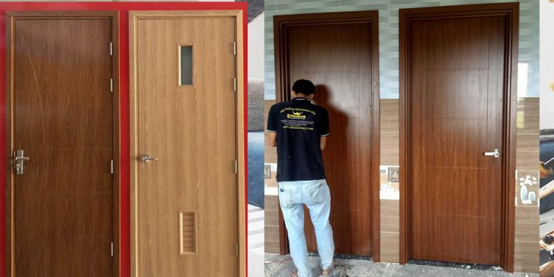 Cửa Composite của Kingdoor là loại cửa nhựa giả gỗ cao cấp, được làm từ nhựa gỗ