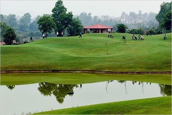 Đây được xem là một trong những sân golf lâu đời nhất miền Bắc