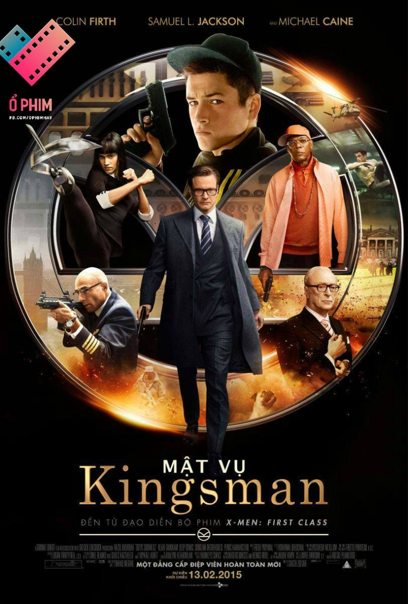Kingsman: The Secret Service (Mật vụ Kingsman)