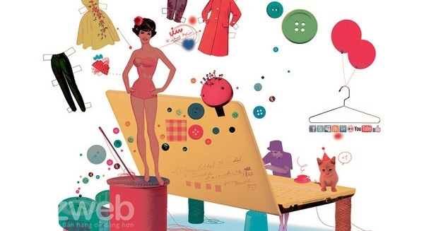 Quần áo luôn là sản phẩm tiêu dùng bán chạy nhất và siêu lợi nhuận từ trước đến nay.