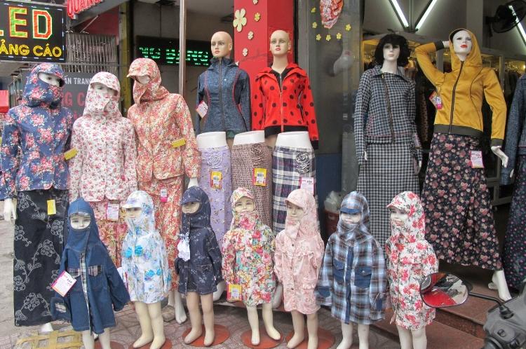 Kinh doanh váy, áo chống nắng