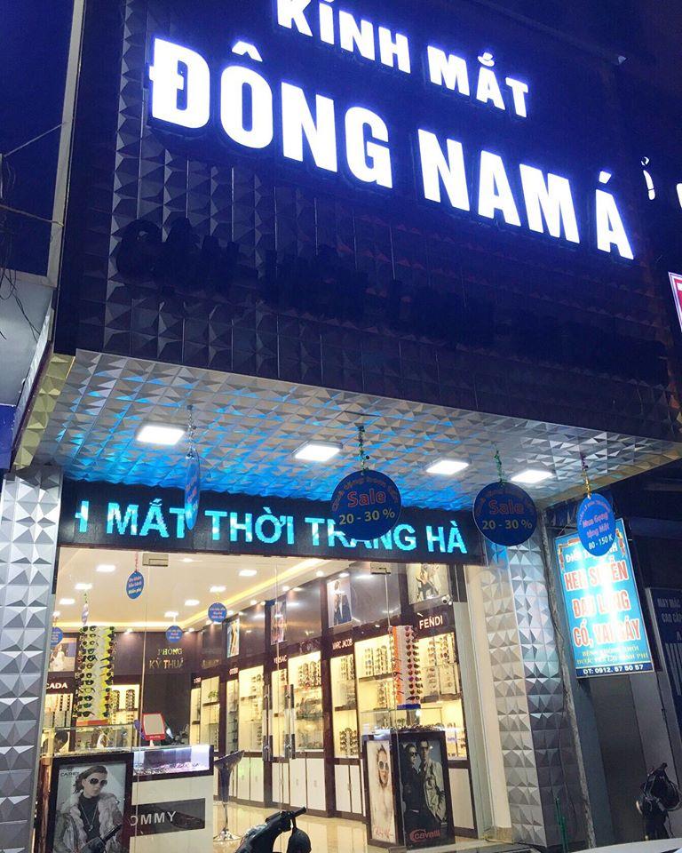 Kính Mắt Đông Nam Á