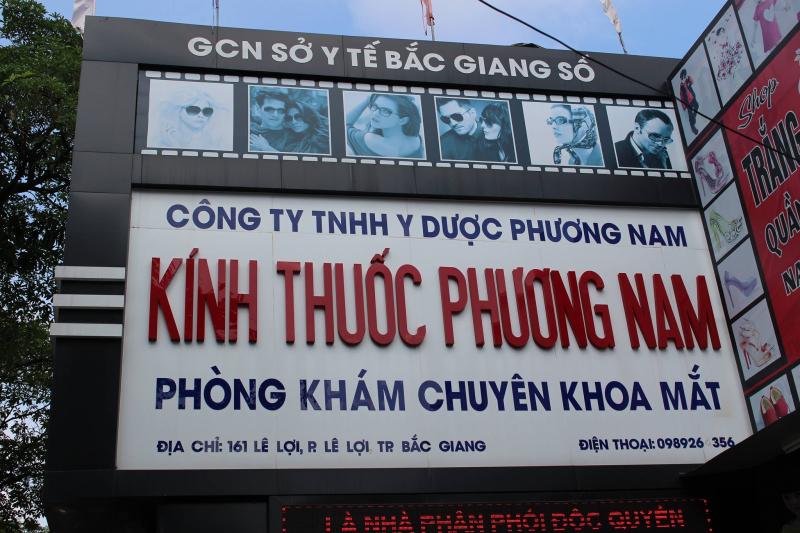 Công Ty Kính Thuốc Phương Nam Bắc Giang