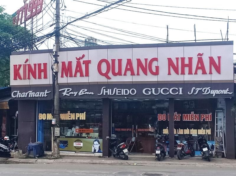 Kính mắt Quang Nhãn