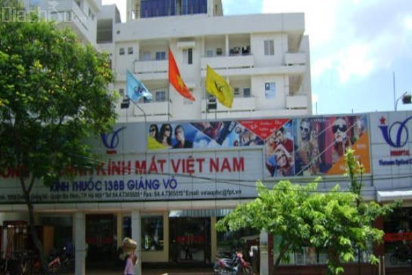 Cửa hàng kính mắt Việt Nam
