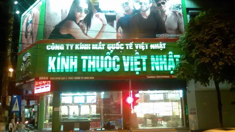 Kính thuốc Việt Nhật