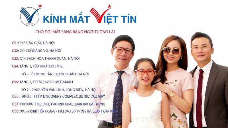 Kính mắt Việt Tín