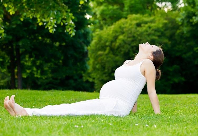 Mẹ bầu nên có những bài tập thở trước khi sinh