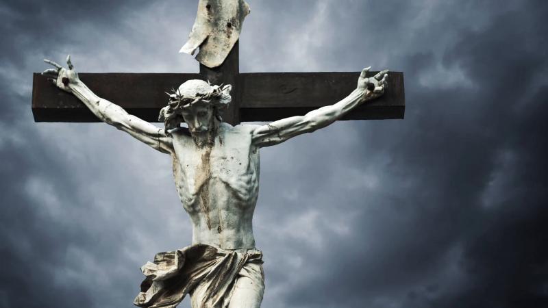 Hình ảnh Chúa Jesus bị đóng đinh trong Kinh thánh Christian