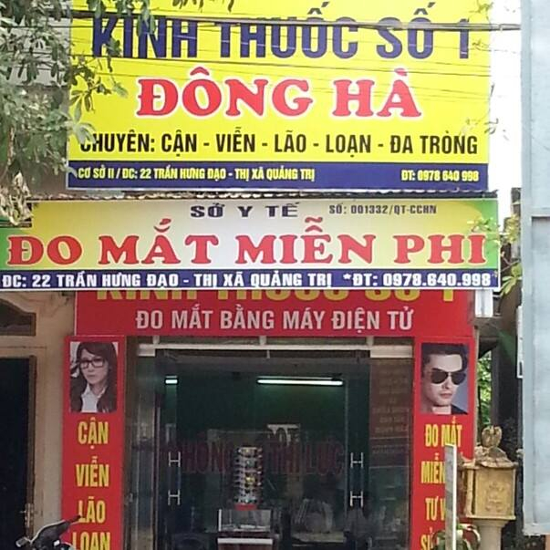 Kính thuốc số 1 Đông Hà