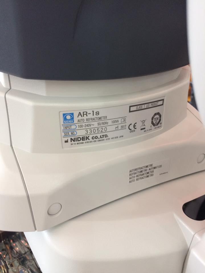 Máy đo khúc xạ tại Kính Thuốc số 1 Gia Lai