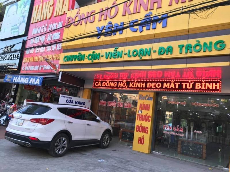 Đồng Hồ - Kính Mắt Yên Cầm