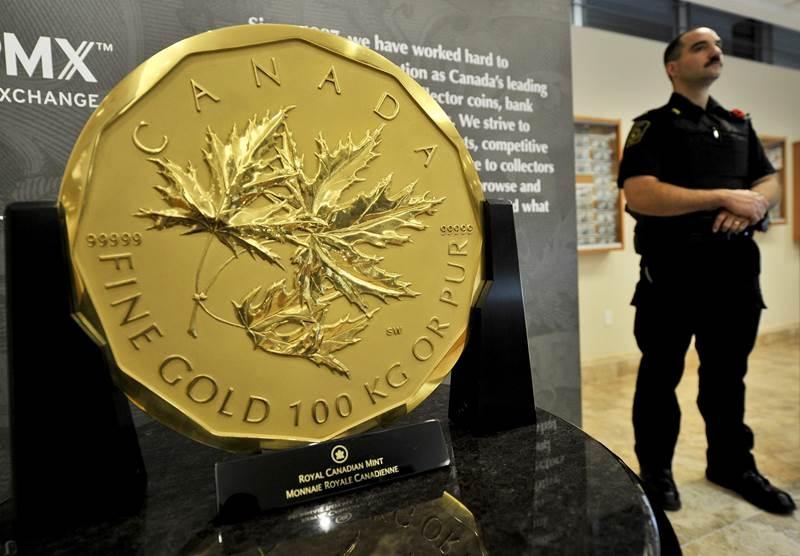 Đồng tiền vàng Canada