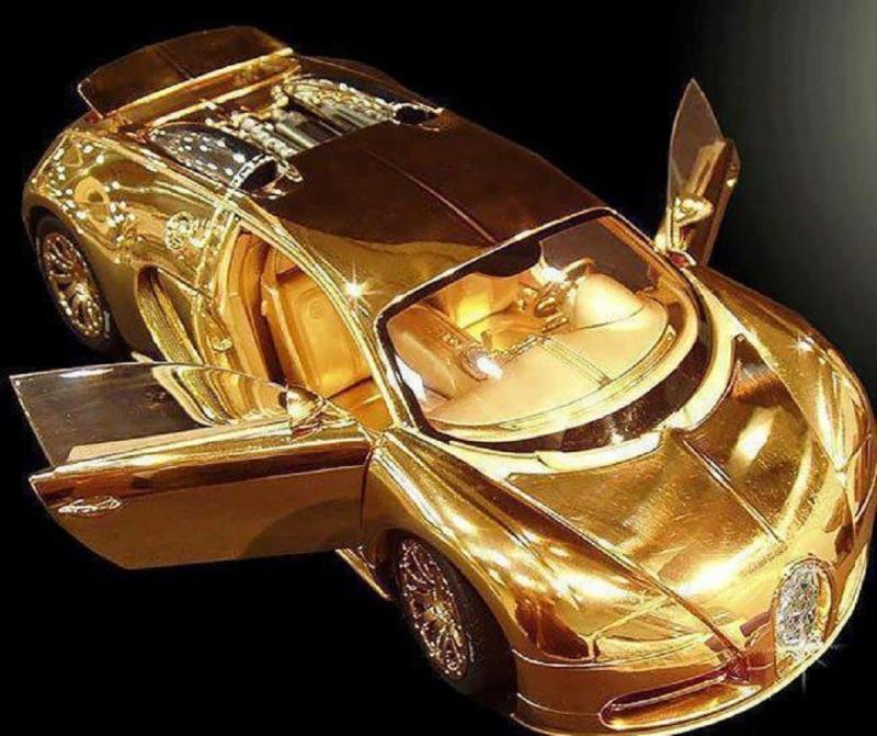 Siêu xe mô hình Bugatti Veyron Diamond