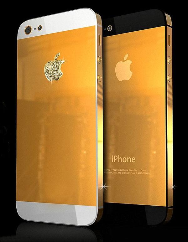 Vỏ vàng bọc iPhone