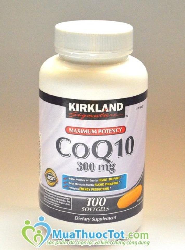 Kirkland CoQ10 300 mg cho một trái tim khỏe mạnh