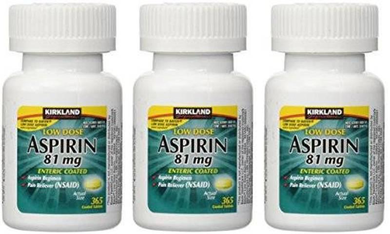 KIRKLAND LOW DOSE ASPIRIN