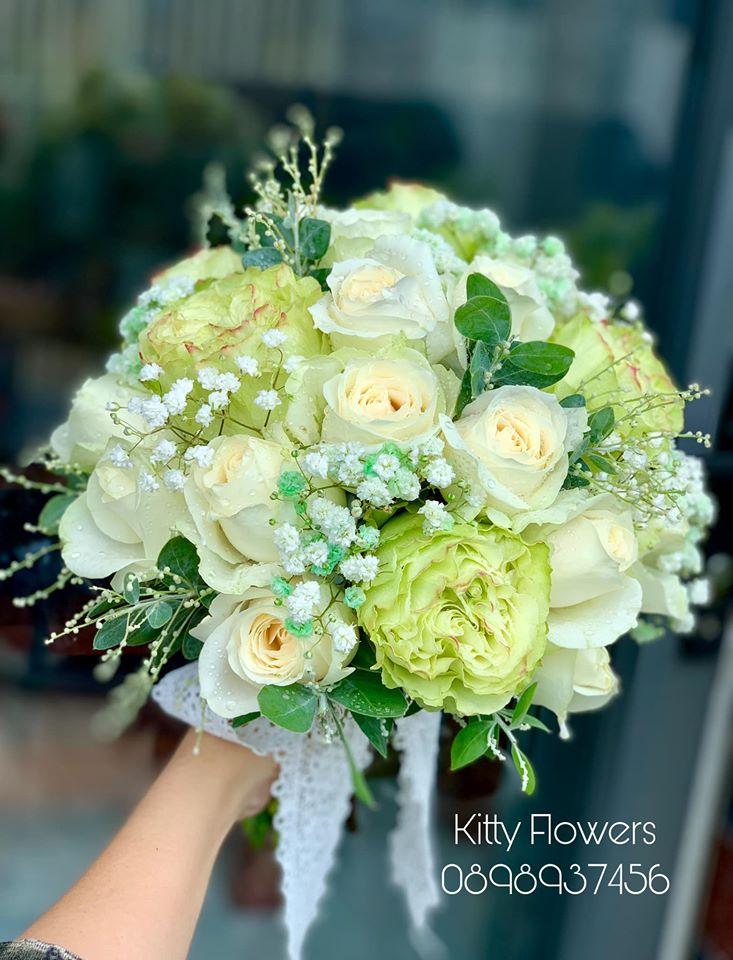 Bó hoa cưới sang trọng, tinh tế dành cho