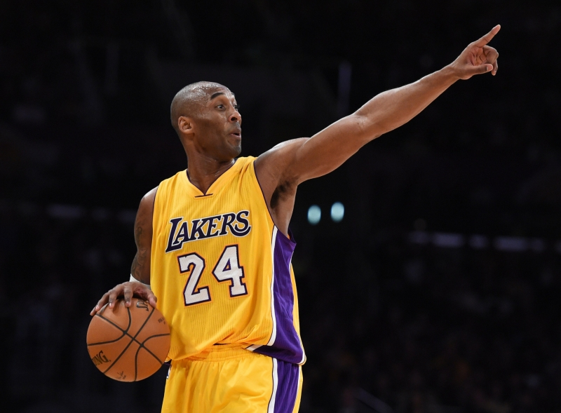 Kobe Bryant, bóng rổ: 50 triệu USD
