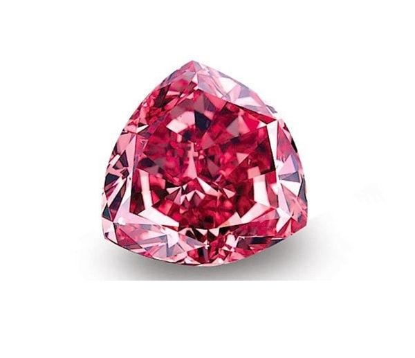 Viên kim cương Moussaieff Red Diamond trị giá 7 triệu $