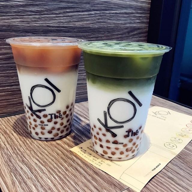 Latte KOI Thé