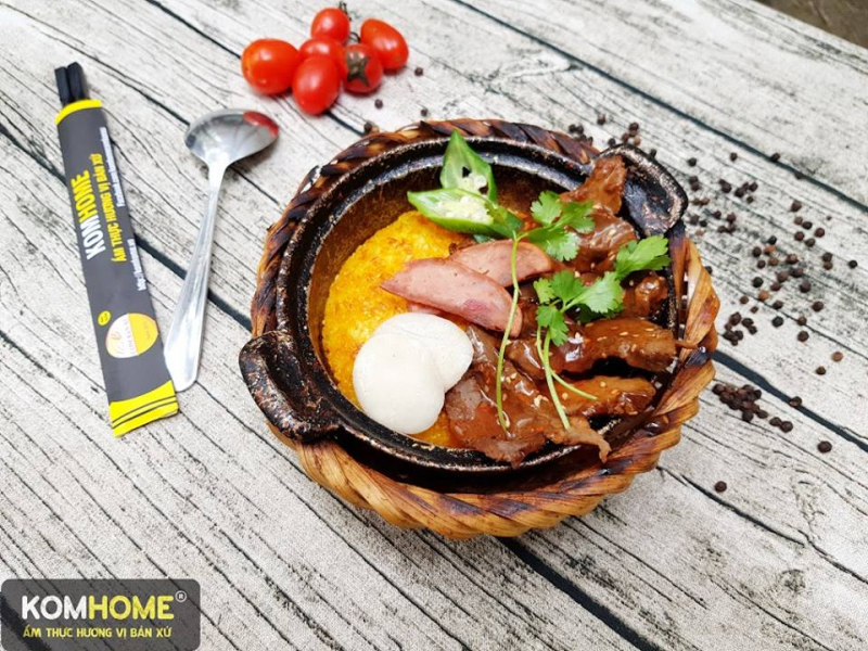 KomHome - Ẩm Thực Hương Vị Bản Xứ