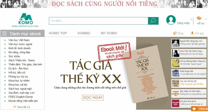 Website của KOMO