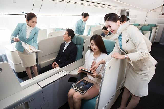 Korean Air là hãng hàng không lớn nhất ở Hàn Quốc