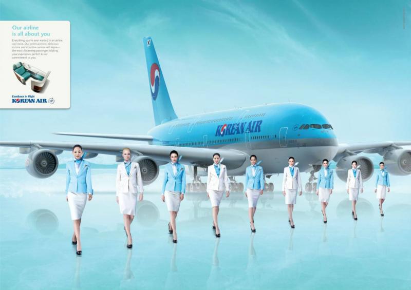 Tiếp viên Korean Air
