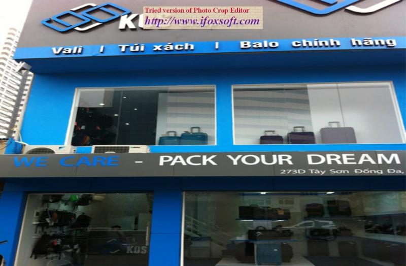 KOS shop - địa chỉ mua sắm sang trọng, đẳng cấp.