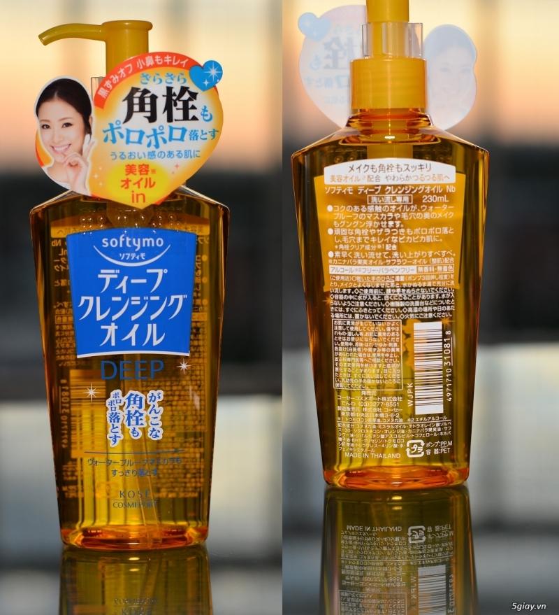 Tẩy trang Kose Softymo Deep Cleansing Oil