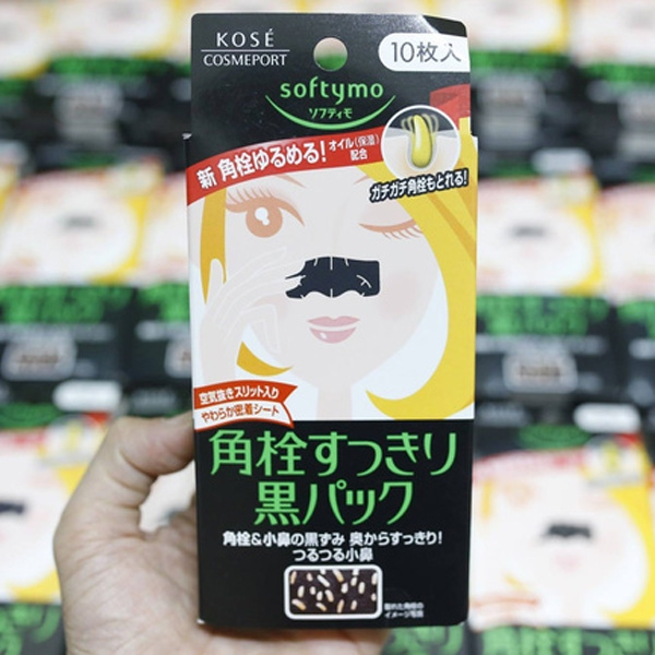 Kose Softymo Nose Clean Pack
