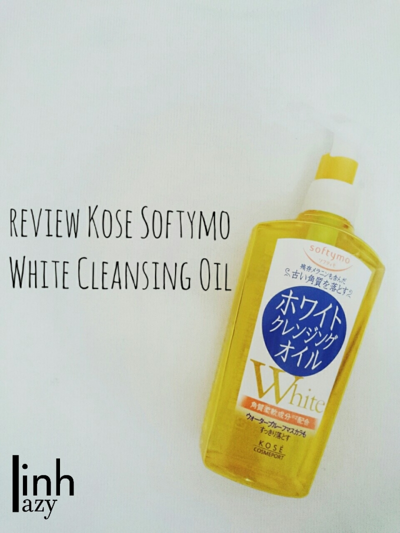 Kosé Softymo White Cleansing Oil