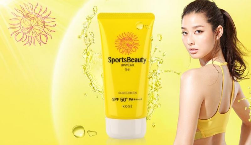 Kose Sports Beauty UVWear SPF 50+ PA++++ là kem chống nắng đến từ Nhật Bản