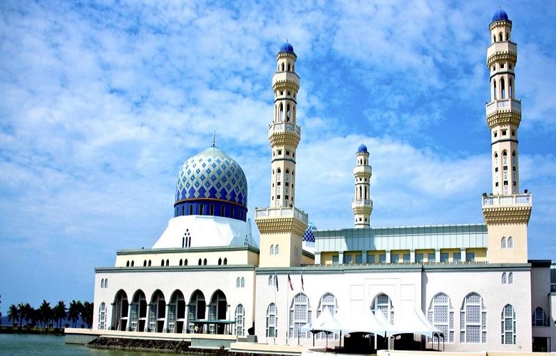Nhà thờ Hồi giáo City Mosque tại Kota Kinabalu