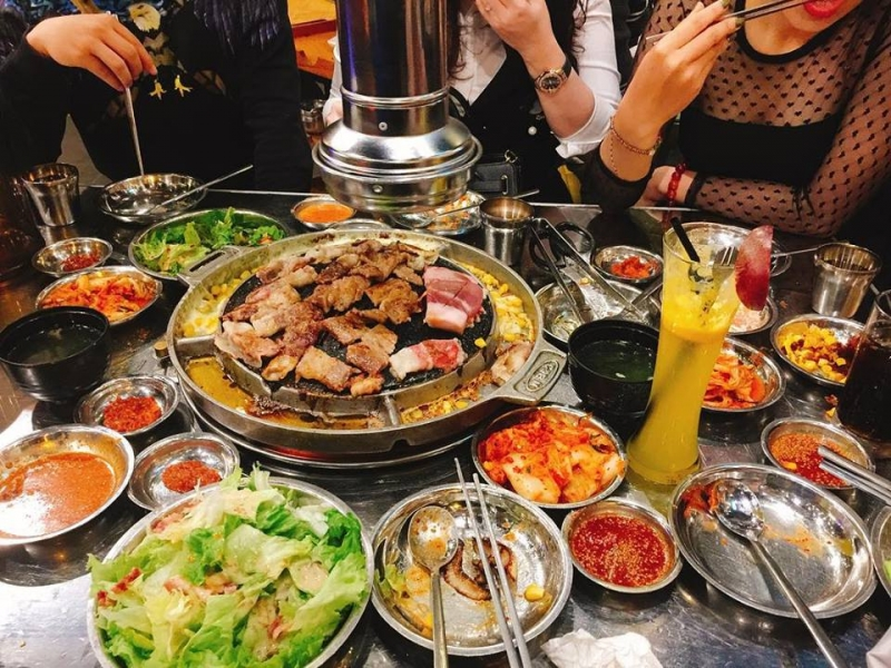 Kpub Korean BBQ garden
