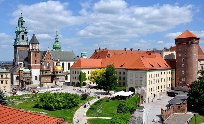 Krakow được mệnh danh thành phố cổ nhất xứ sở bạch dương