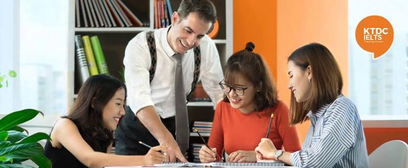 Chương trình học IELTS tại KTDC IELTS được thiết kế chuyên biệt giúp nâng cao khả năng sử dụng tiếng Anh