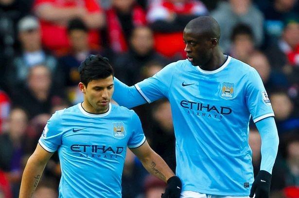 Aguero (trái) và Touré là những công thần của Manchester City trong nhiều năm