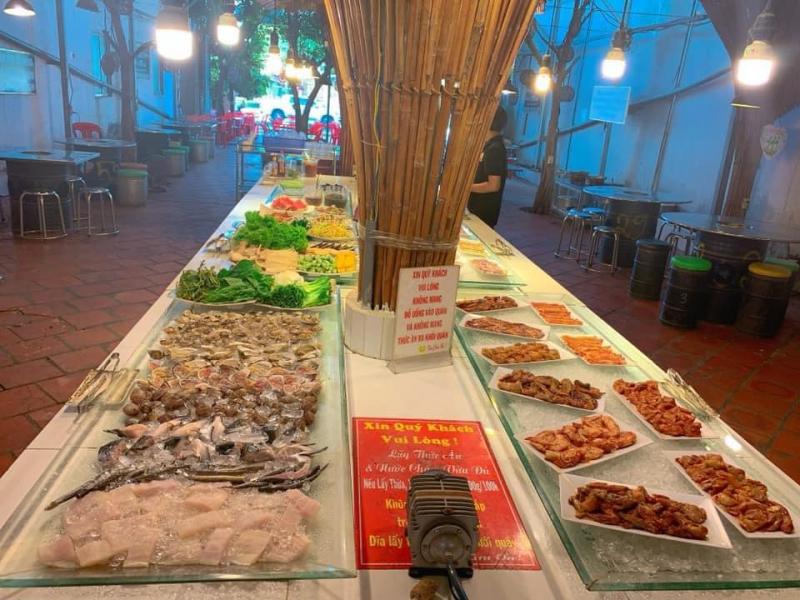 Thèm buffet lẩu nướng tại Cần Thơ thì nhất định không nên bỏ lỡ quán Kushin BBQ.