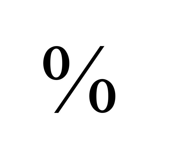 Ký hiệu %